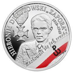 """10 zł Hieronim Dekutowski """"Zapora"""" - Wyklęci przez Komunistów Żołnierze Niezłomni"""