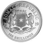 100 Shillings Słoń