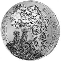 50 Francs Surykatki 2016