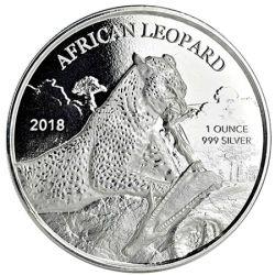 5 Cedi Leopard Afrykański