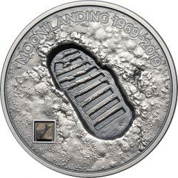 5$ Lądowanie na Księżycu - Ślad