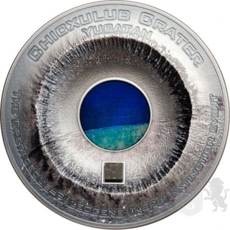 20$ Krater Chicxulub, Yucatan