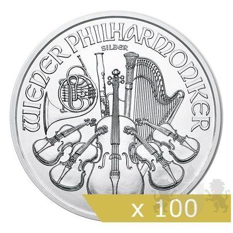 1,5 Euro Wiedeński Filharmonik x 100 sztuk 2019