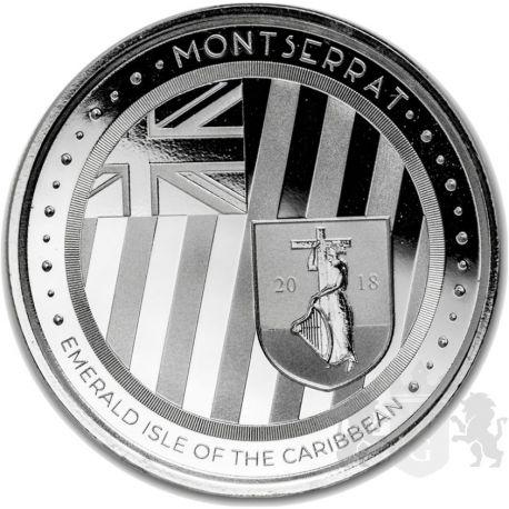 2$ Szmaragdowa Wyspa Karaibów, Montserrat - EC8