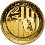 10$ Szmaragdowa Wyspa Karaibów, Montserrat - EC8