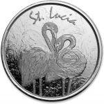 2$ Różowy Flaming, St Lucia - EC8
