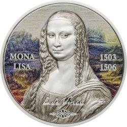 5$ Mona Lisa, Leonardo da Vinci - Sztuka Odrodzona