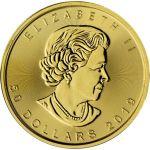 50$ Liść Klonowy
