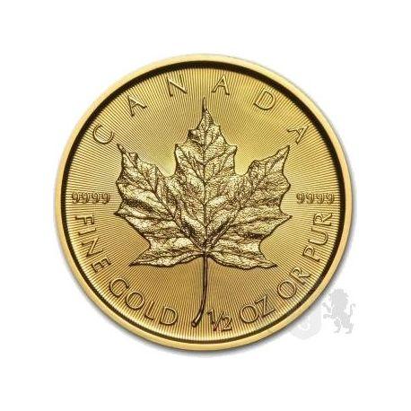 20$ Liść Klonowy 1/2 oz Au 999 2019