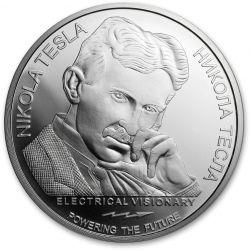 100 Dinarów Pilot Radiowy - Nikola Tesla