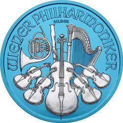 1,5 Euro Vienna Philharmonic Space Blue