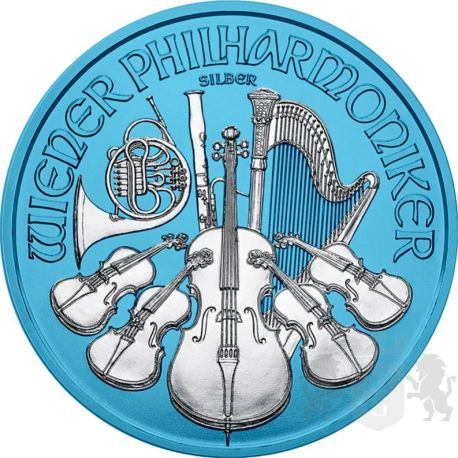 1,5 Euro Wiedeński Filharmonik Space Blue