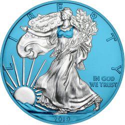 1$ Amerykański Orzeł Space Blue