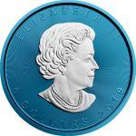 5$ Liść Klonowy Space Blue