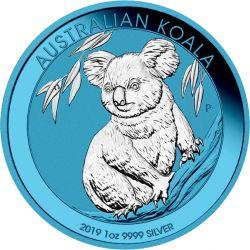 1$ Koala Space Blue