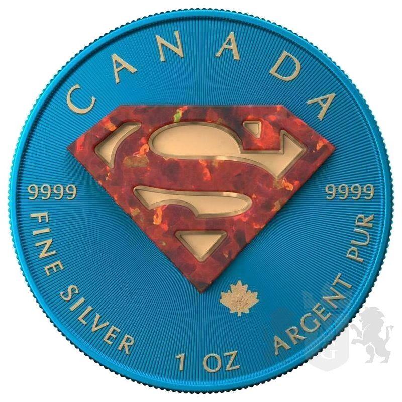 5$ Superman Space Blue