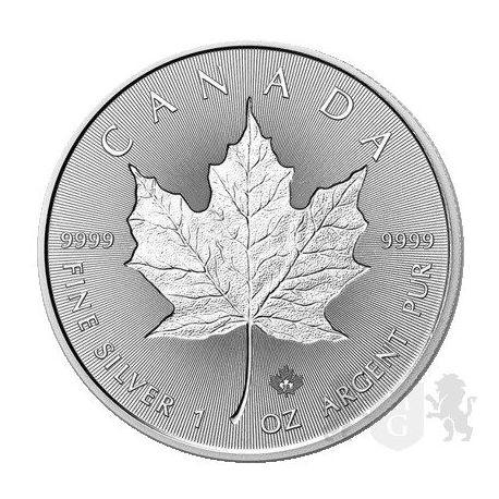 5$ Liść Klonowy, Incuse 2019