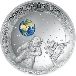 20 Euro The Moon Landing