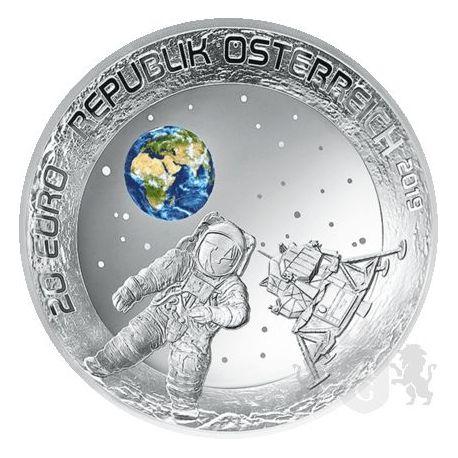 20 Euro Lądowanie na Księżycu