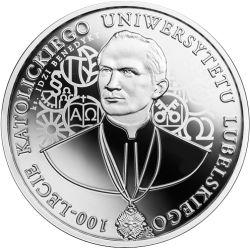 10 zł KUL - 100-lecie Katolickiego Uniwersytetu Lubelskiego