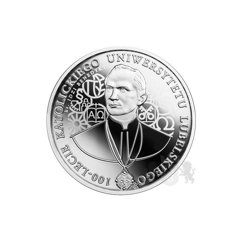 10 zł KUL - 100th Anniversary of the Catholic University of Lublin
