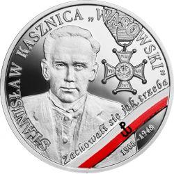 """10 zł Stanisław Kasznica """"Wąsowski"""" - Wyklęci przez komunistów żołnierze niezłomni"""