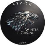 1$ Gra o Tron - Winter is Coming
