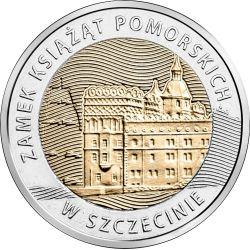 5zł Zamek Ksiąząt Pomorskich w Szczecinie