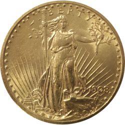 20$ Amerykański Orzeł Saint Gaudens