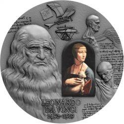 2000 Francs Leonardo da Vinci - 500 Rocznica Śmierci