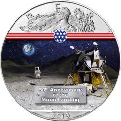1$ Moduł Księżycowy - Amerykański Orzeł