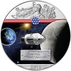 1$ W Drodze na Księżyc - Amerykański Orzeł
