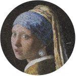 20$ Dziewczyna z Perłą, Vermeer - Mozaika