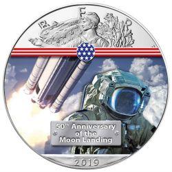 1$ Następny Krok na Księżyc - Amerykański Orzeł