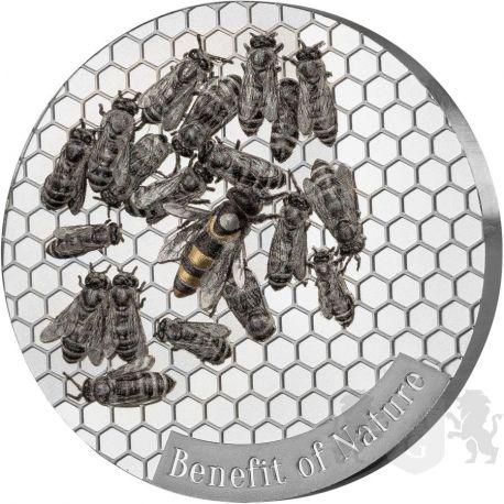 1000 Francs Pszczoła Miodna - Korzyści Natury