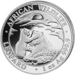 100 Shillings Leopard - African Wildlife 2019