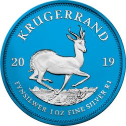 1 Rand Krugerrand Space Blue 2019