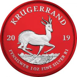 1 Rand Krugerrand Space Red 2019