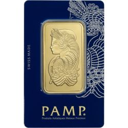 Gold Bar PAMP 100 g