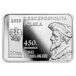 20 zł Unia Lubelska - 450. Rocznica