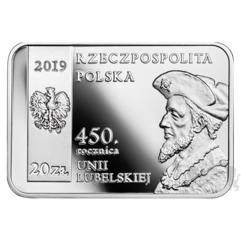 20 zł 450th Anniversary of the Union of Lublin