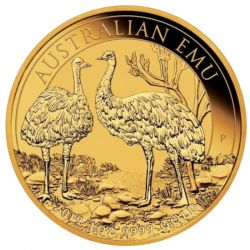 100$ Australjski Emu 1 oz Au 999 2019