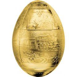 5000 Francs Trans-Siberian Railway Egg 3D
