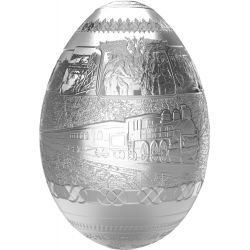5000 Francs Jajo Kolej Transsyberyjska 3D