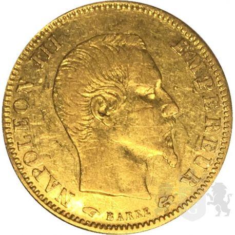 5 Franków Napoleon III A 1856