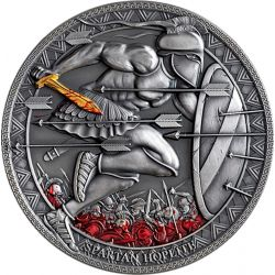 3000 Francs Spartan Hoplito - Legendary Warriors