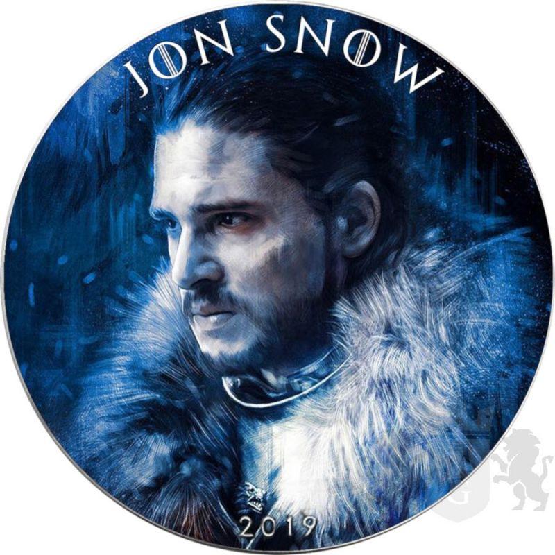 1$ Jon Snow - Gra o Tron