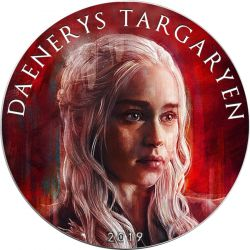 1$ Daenerys Targaryen - Games of Thrones
