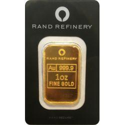 Sztabka Złota Rand Refinery 1 oz
