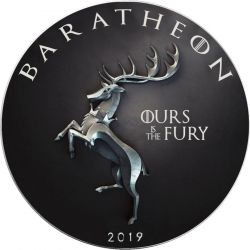 1$ House Baratheon, Ours is fury - Gra o Tron